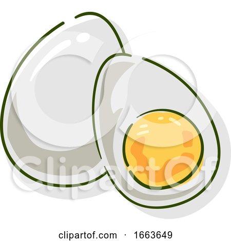 Egg Superfood Illustration Posters, Art Prints
