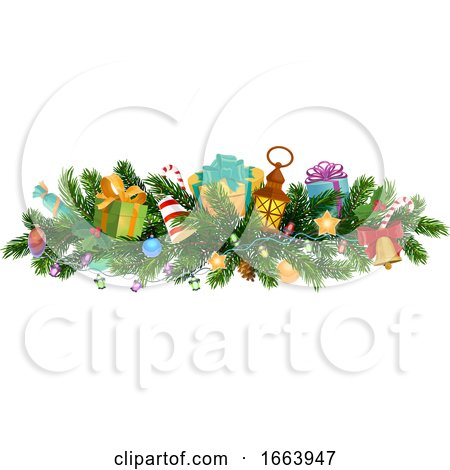 Christmas Border by Vector Tradition SM