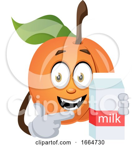 Apricot with Milk by Morphart Creations