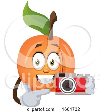 Apricot with Camera by Morphart Creations
