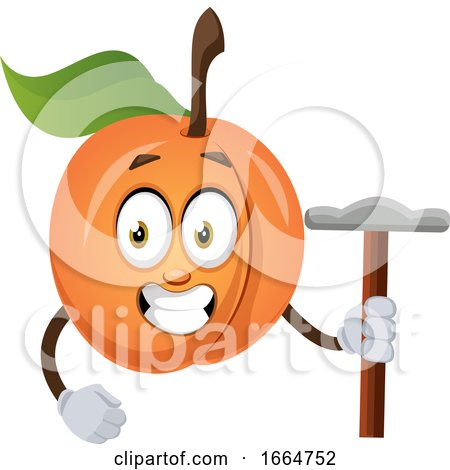 Apricot with Hammer by Morphart Creations