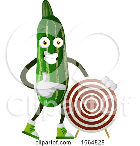 Cucumber with Target by Morphart Creations