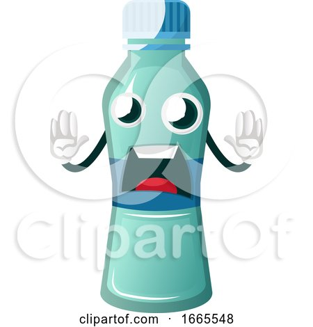 Bottle Is Afraid by Morphart Creations