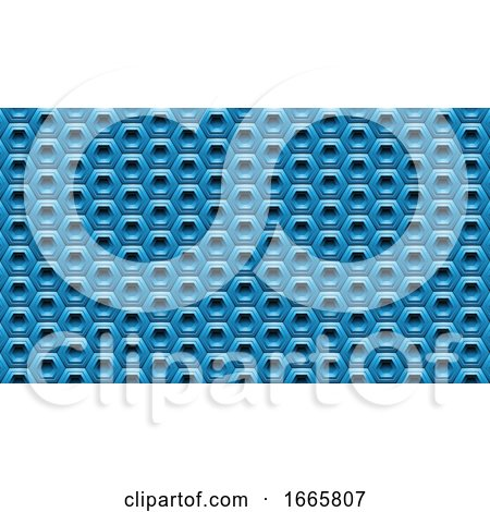 Background of Hexagons by cidepix
