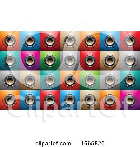 Background of Music Speakers by cidepix