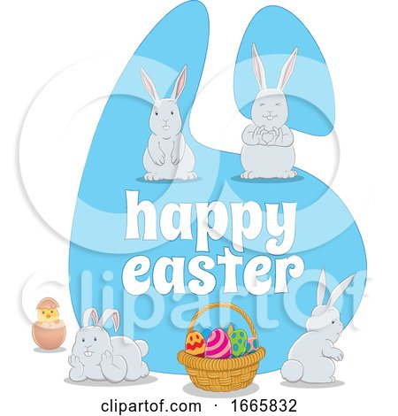 Happy Easter Greeting by cidepix