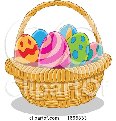 Basket of Easter Eggs by cidepix