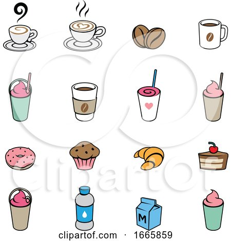 Coffee Icons by cidepix