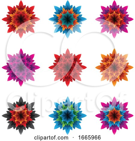 Flower Icons by cidepix