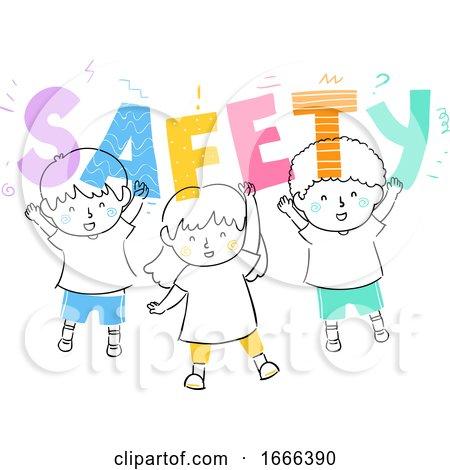 Kids Safety Illustration by BNP Design Studio