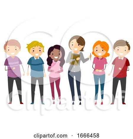 Stickman Adult Group Counseling Illustration by BNP Design Studio
