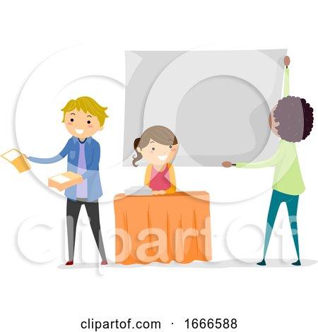 Stickman Teens Recruitment Club Illustration by BNP Design Studio