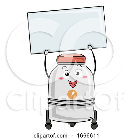 Sperm Bank Board Mascot Illustration by BNP Design Studio