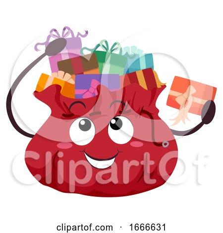 Mascot Gift Bag Illustration by BNP Design Studio