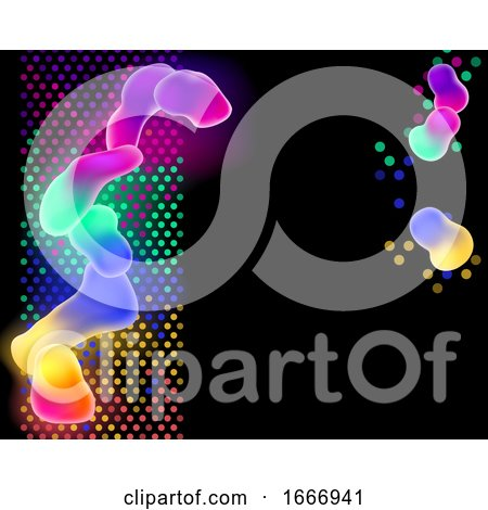 Colorful Abstract Background by AtStockIllustration