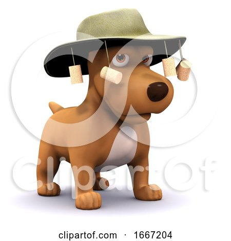 3d Dog Goes to Australia Posters, Art Prints
