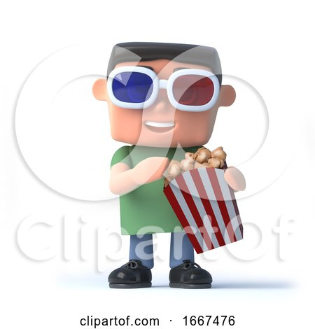 3d Nerd Goes to the Movies by Steve Young