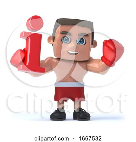 3d Boxer Has All the Info by Steve Young