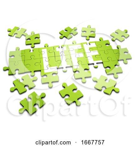 "3d Jigsaw Puzzle ""Life"" Posters, Art Prints"