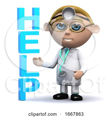 3d Doctor Offers Help by Steve Young