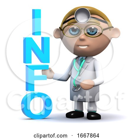 3d Doctor Has Info by Steve Young