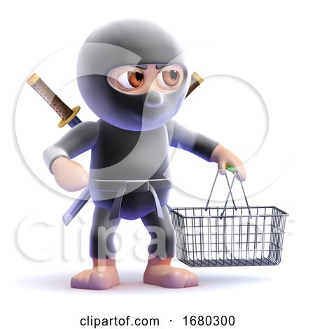 3d Ninja Customer by Steve Young