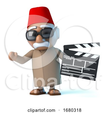 3d Moroccan Makes a Movie by Steve Young
