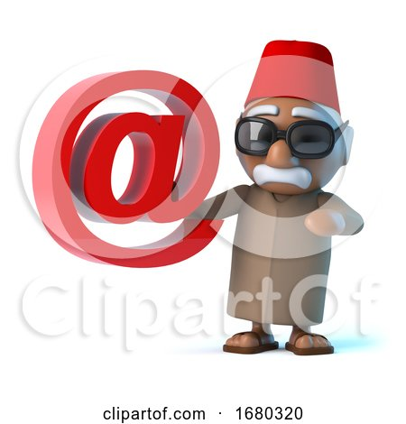 3d Moroccan Has an Email Address by Steve Young
