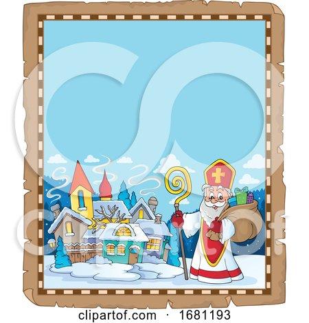 Saint Nicholas by visekart