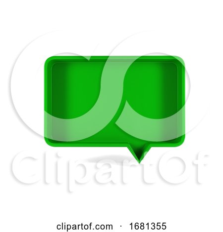 Colored Speech Bubble Background by KJ Pargeter
