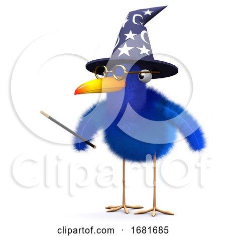 3d Bluebird Magician by Steve Young