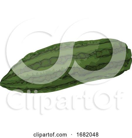 Green Bitter Melon by Morphart Creations