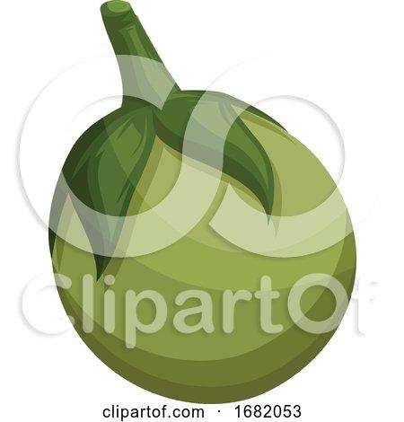 Green Eggplant by Morphart Creations