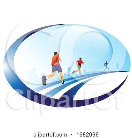 Running, Illustration by Morphart Creations