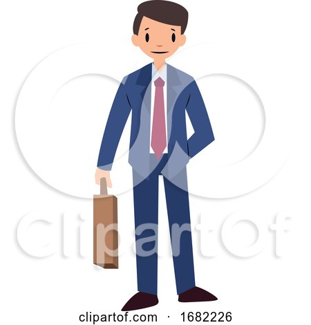 Businessman Character by Morphart Creations
