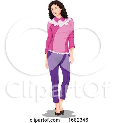 Stylish Woman by Morphart Creations