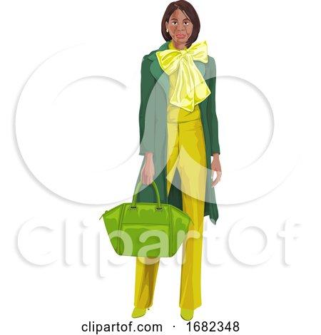 Woman with Handbag by Morphart Creations