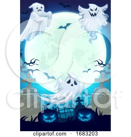 Halloween Background by Vector Tradition SM