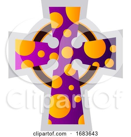 Multicolor Celtir Cross by Morphart Creations