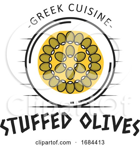 Greek Cuisine Design by Vector Tradition SM