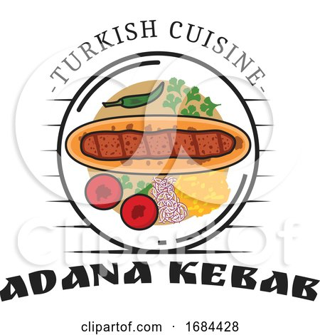 Turkish Cuisine Design by Vector Tradition SM
