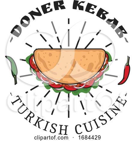 turkish cuisine design by vector tradition sm 1684429. Black Bedroom Furniture Sets. Home Design Ideas