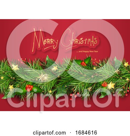 Merry Christmas and Happy New Year Greeting by dero
