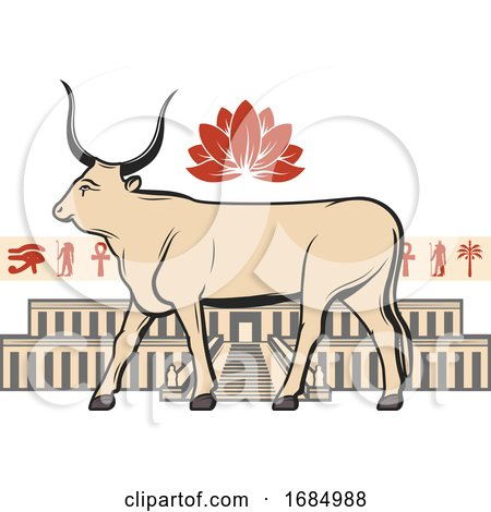 Egyptian Bull by Vector Tradition SM