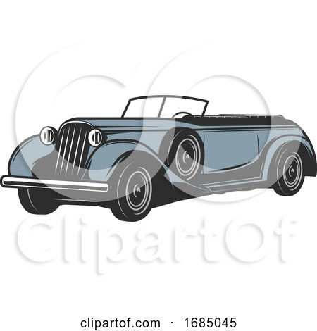 Antique Car by Vector Tradition SM