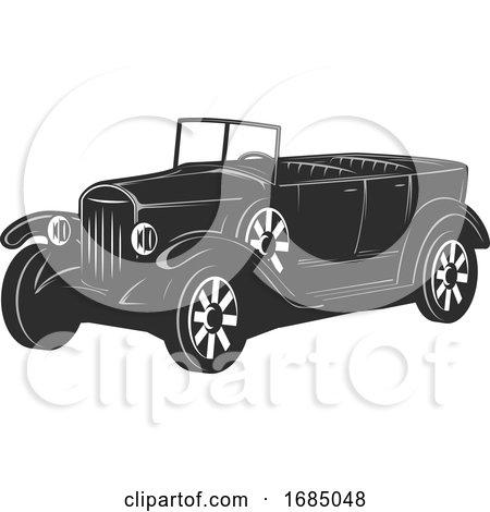 Antique Car by Vector Tradition SM
