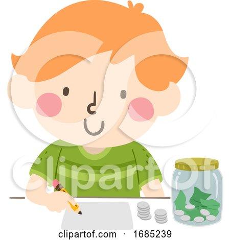 Kid Boy Budget Illustration by BNP Design Studio