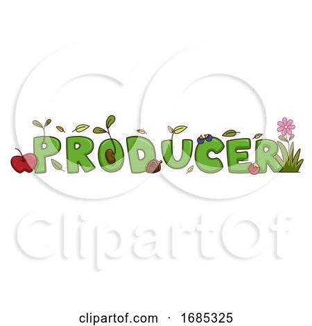 Producer Lettering Illustration by BNP Design Studio