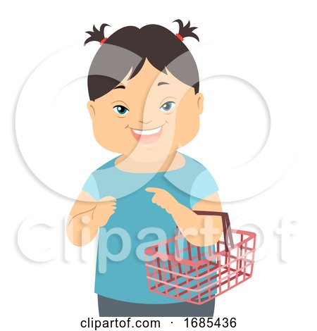 Kid Girl down Syndrome Social Skills Training by BNP Design Studio