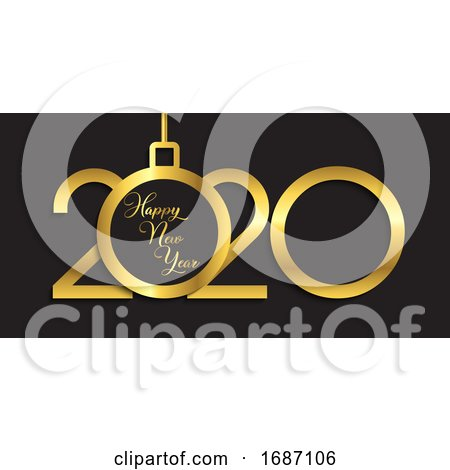 Happy New Year Banner Design by KJ Pargeter
